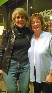 Posing with my mentor and fellow author, Christine DeSmet
